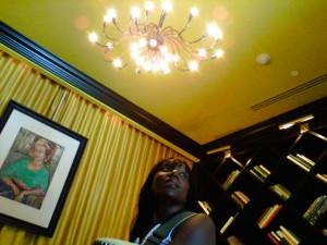 Tara Smone Powel at the Vicroy Hotel